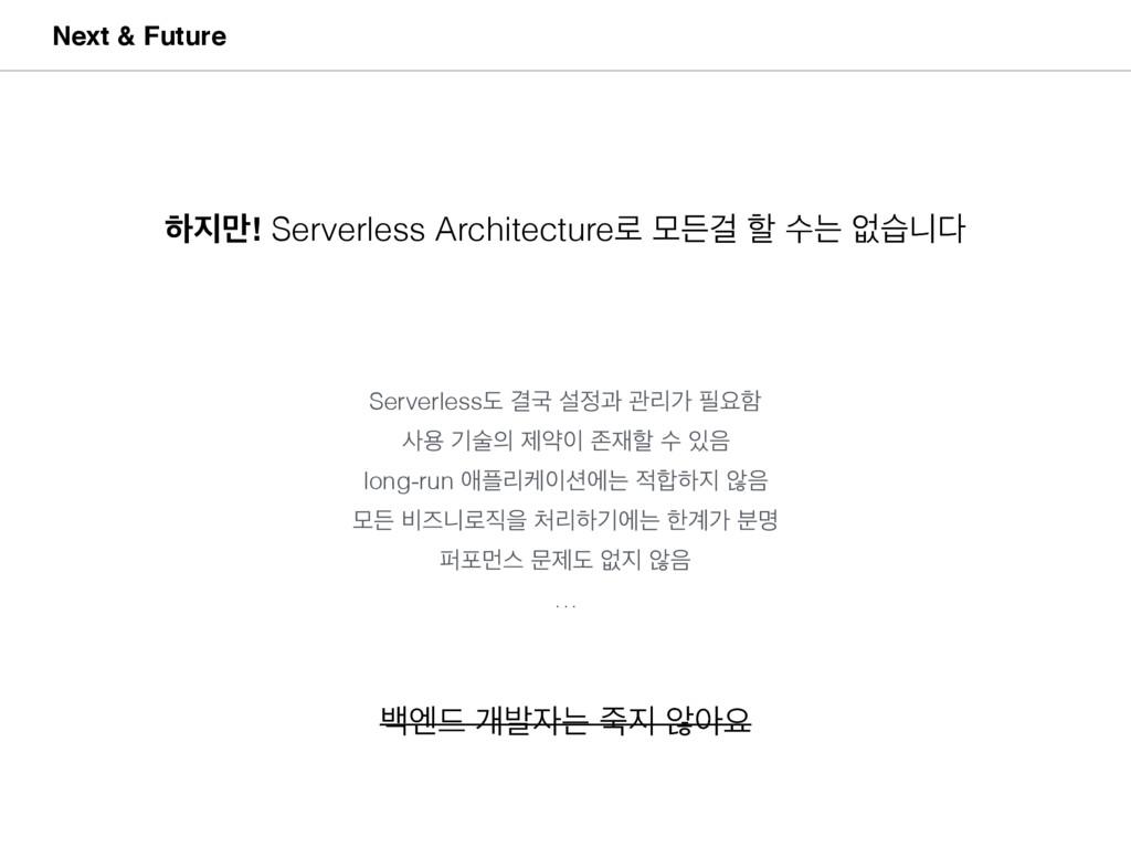 ೞ݅! Serverless Architecture۽ ݽٚѦ ೡ ࣻח হणפ Nex...