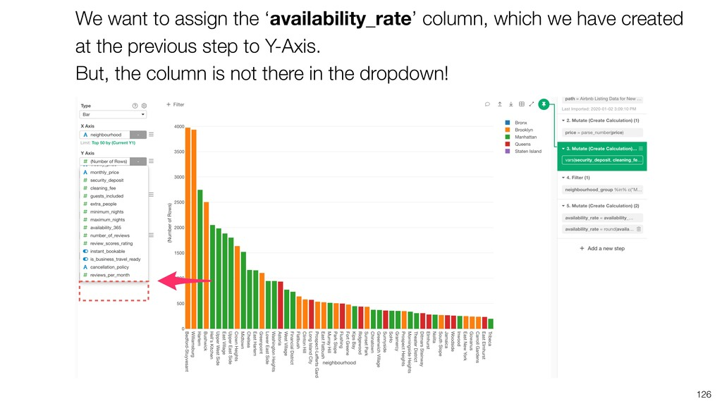 126 We want to assign the 'availability_rate' c...