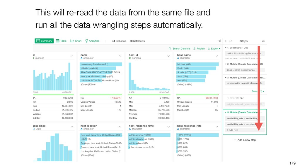This will re-read the data from the same file an...