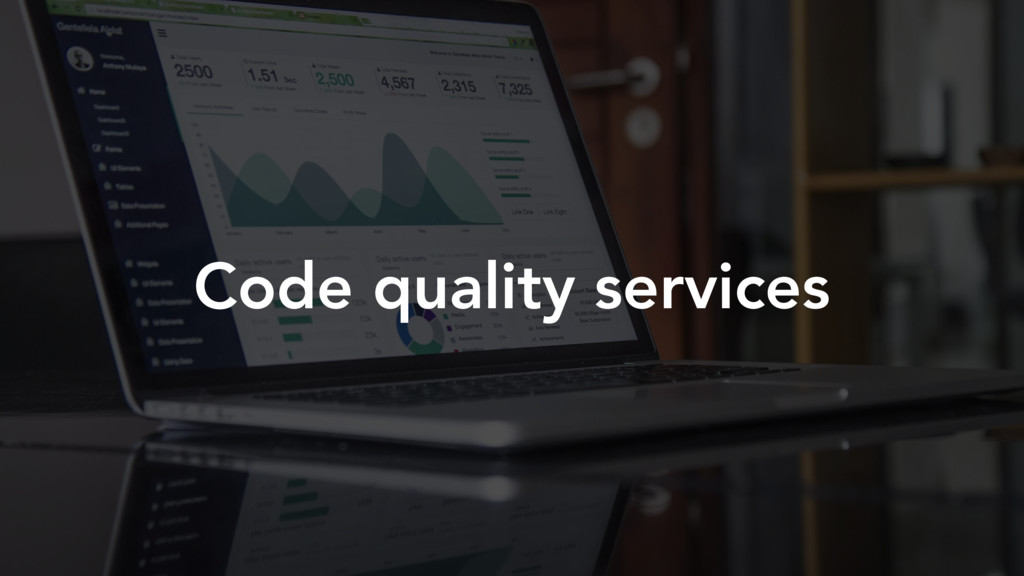 Code quality services