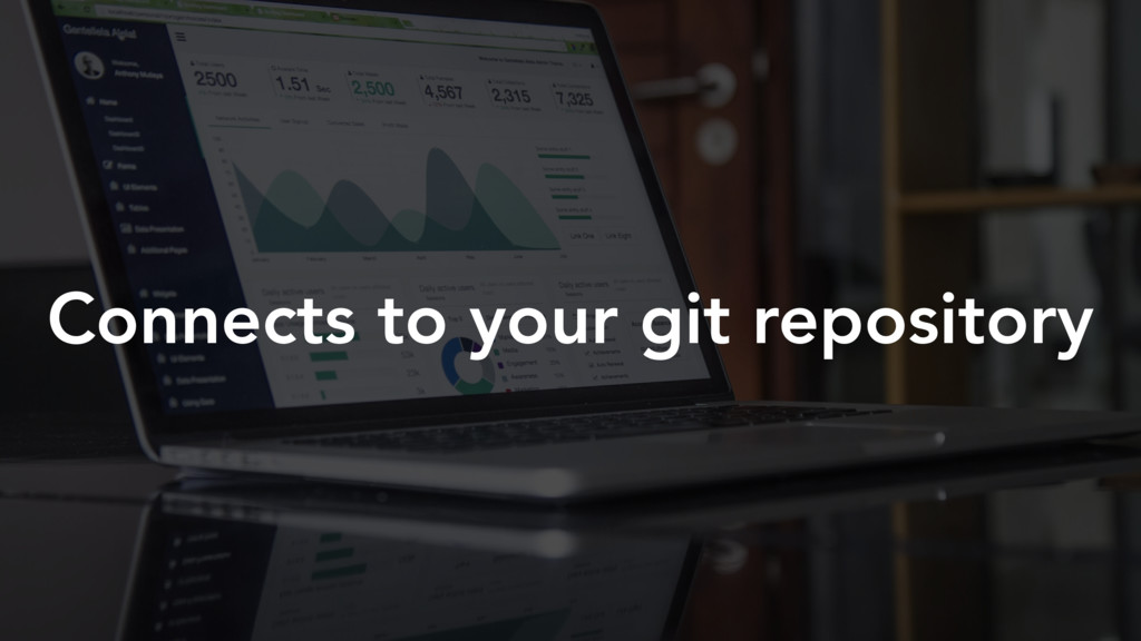 Connects to your git repository