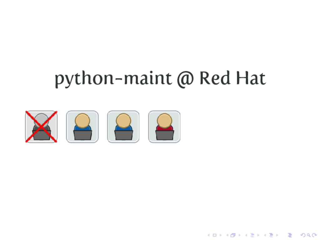 python-maint @ Red Hat