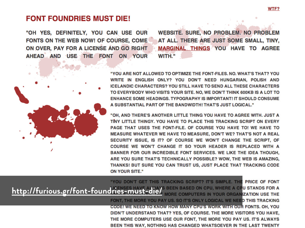 http://furious.gr/font-foundries-must-die/