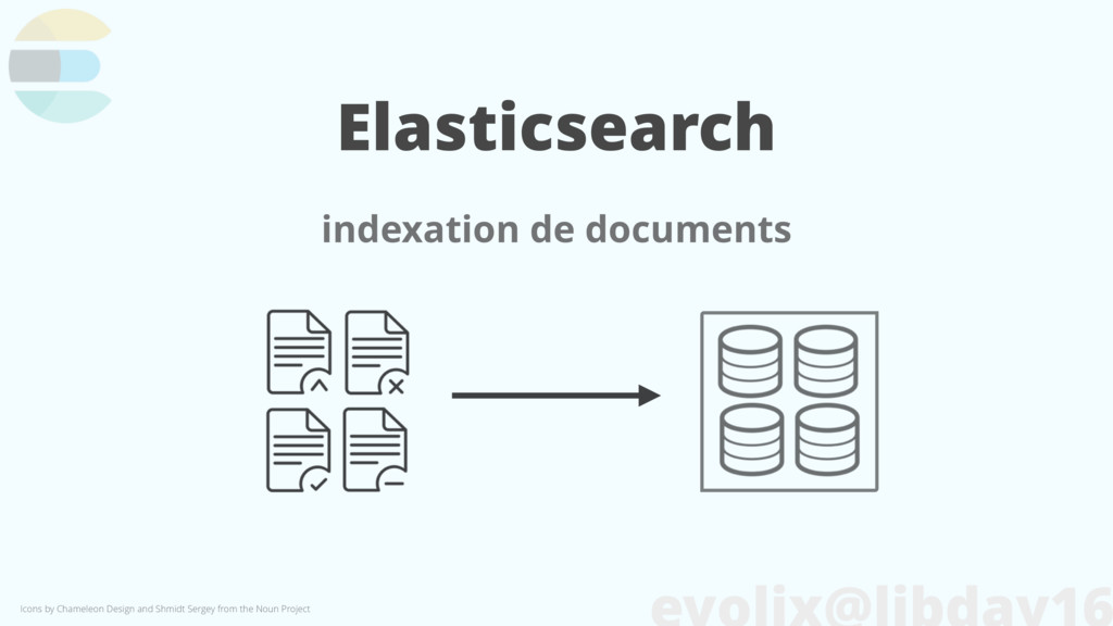 Elasticsearch indexation de documents Icons by ...