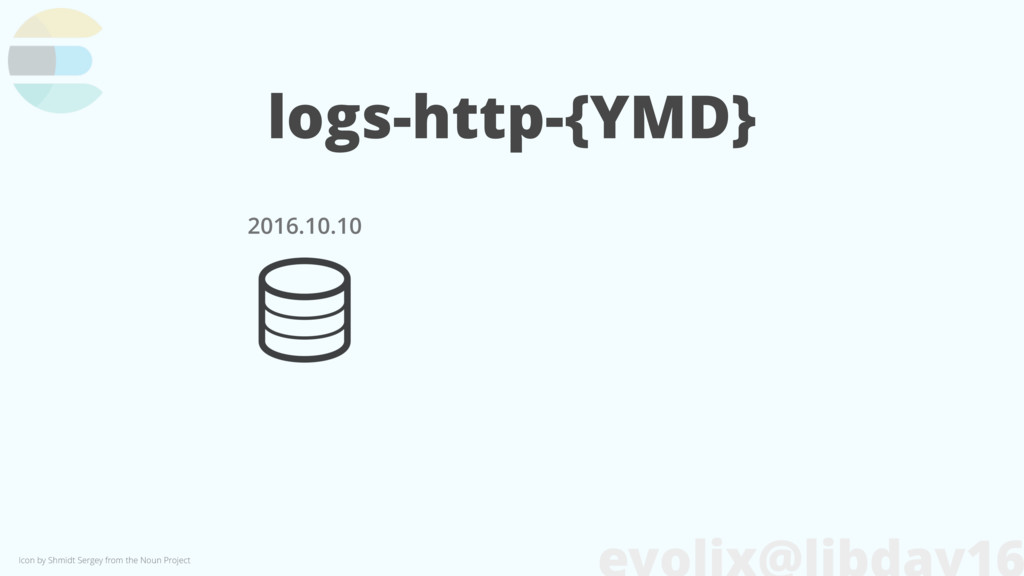 logs-http-{YMD} 2016.10.10 Icon by Shmidt Serge...