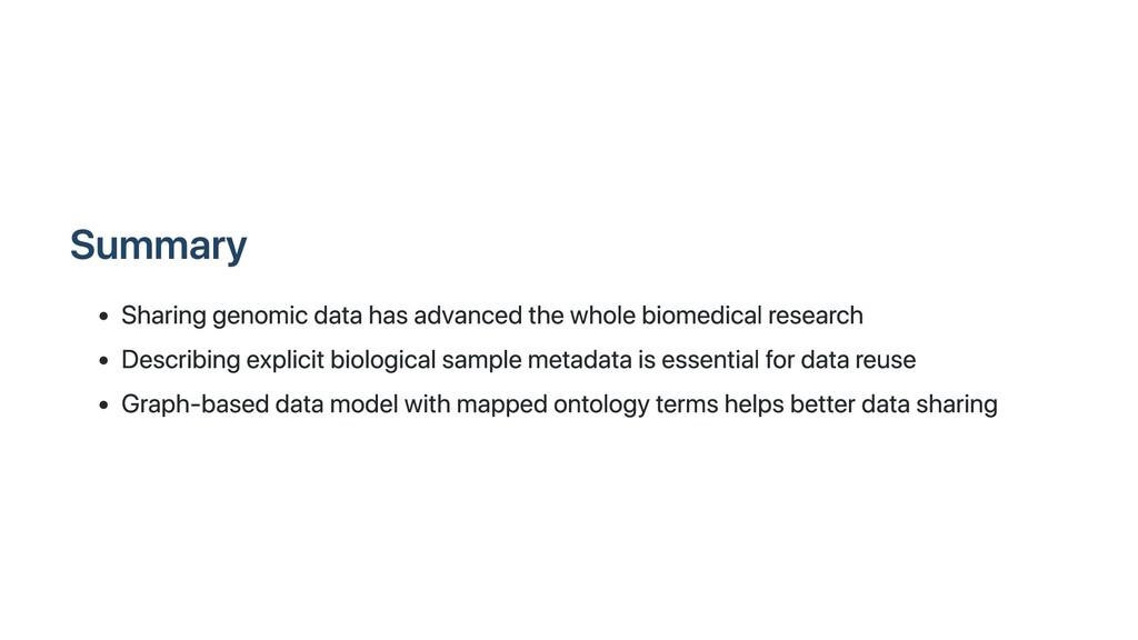 Summary Sharing genomic data has advanced the w...