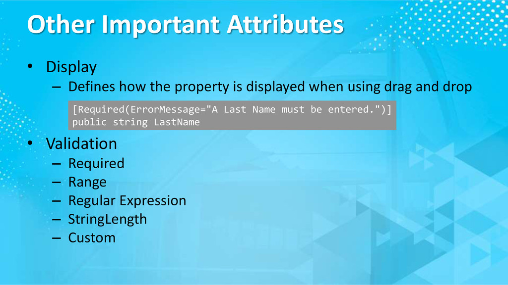 Other Important Attributes • Display – Defines ...