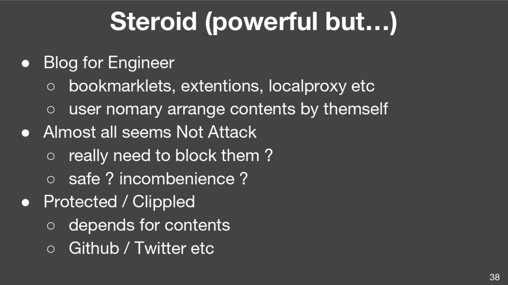 38 Steroid (powerful but…) ● Blog for Engineer ...