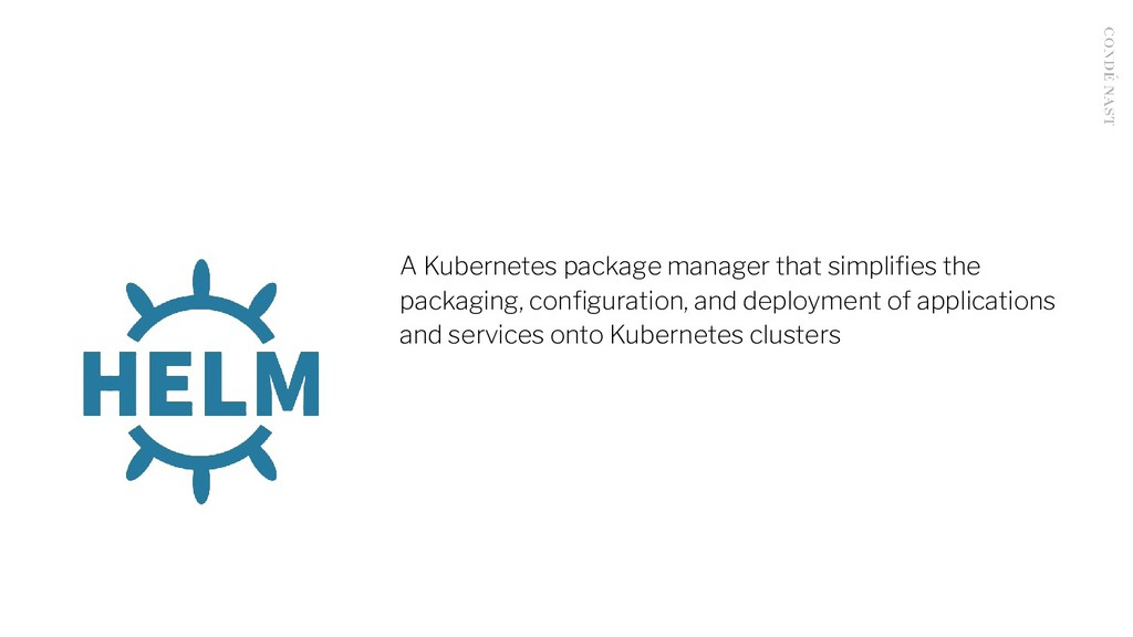 A Kubernetes package manager that simplifies the...