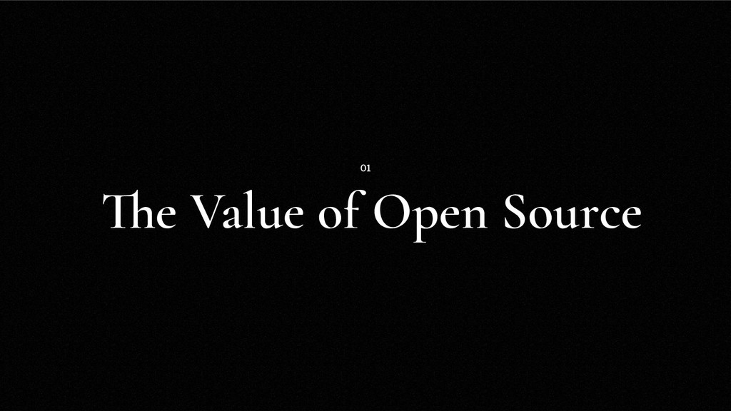 The Value of Open Source 01