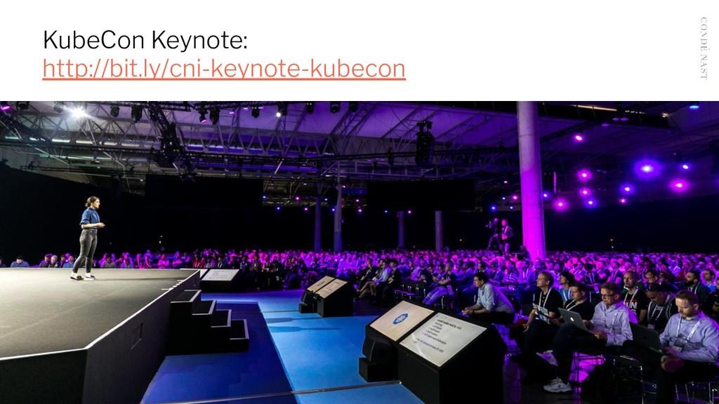 KubeCon Keynote: http://bit.ly/cni-keynote-kube...