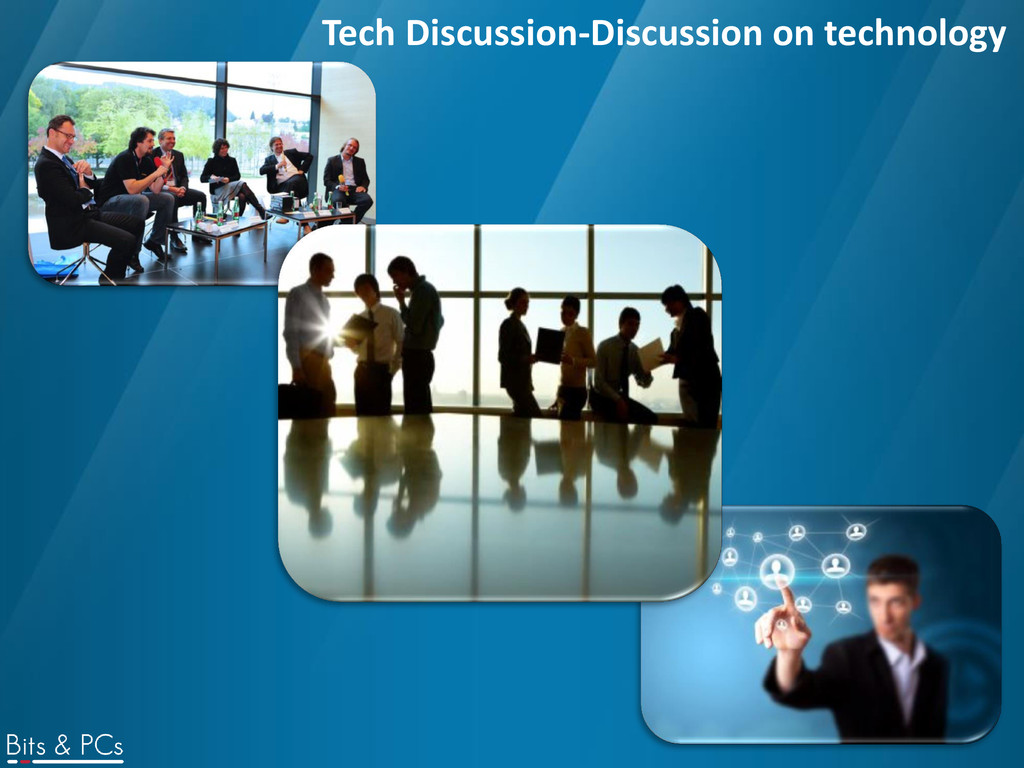 Tech Discussion-Discussion on technology