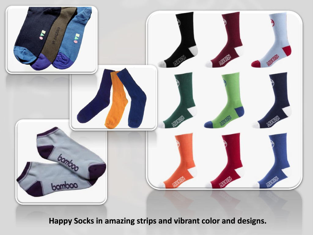 Happy Socks in amazing strips and vibrant color...