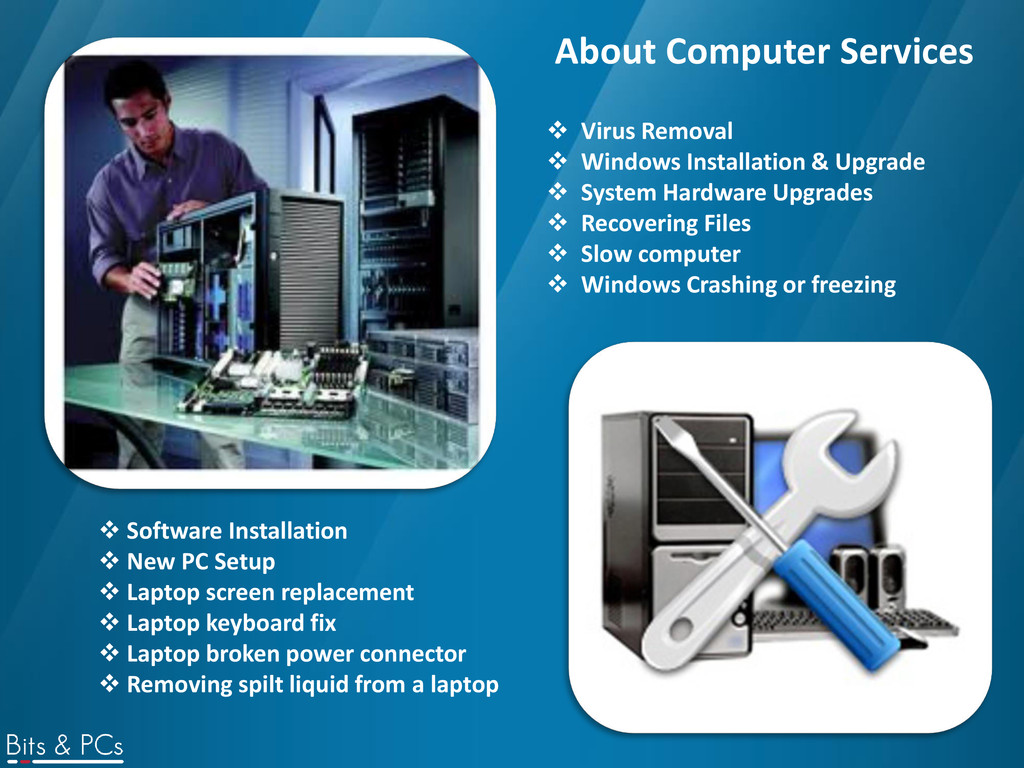 About Computer Services  Virus Removal  Windo...