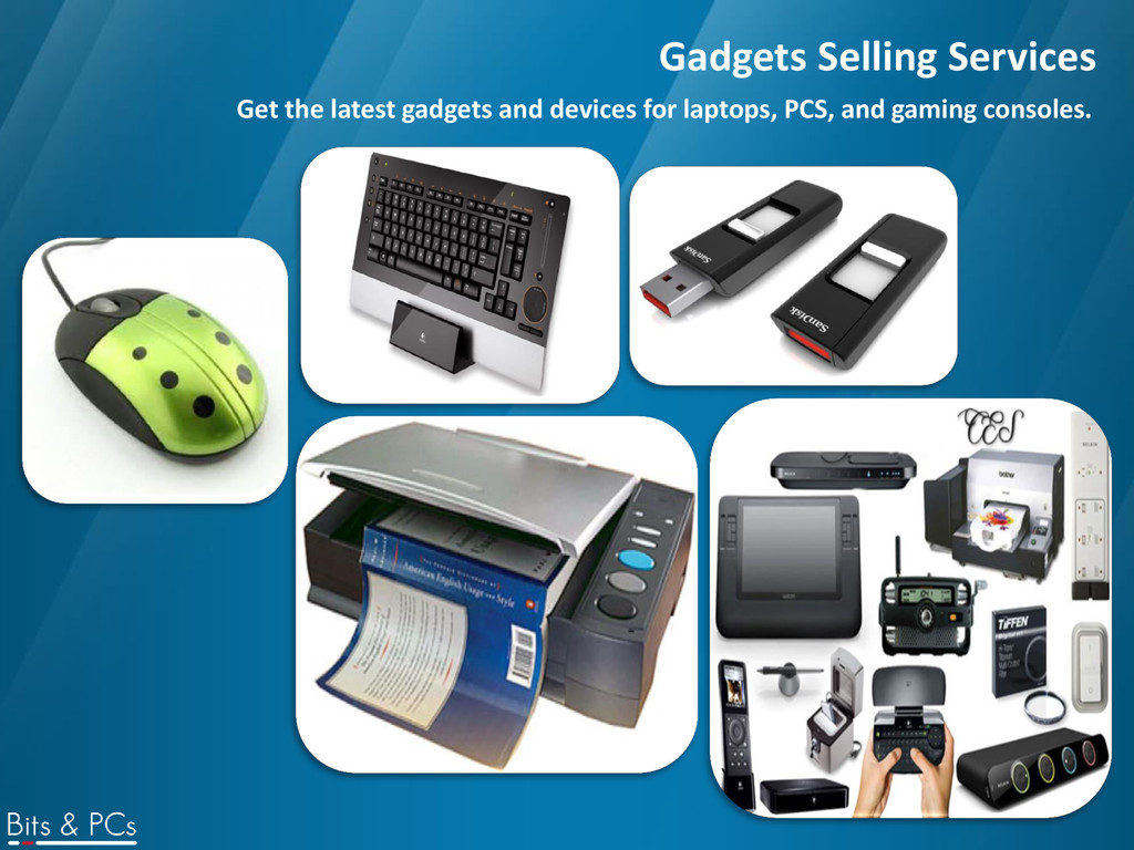 Gadgets Selling Services Get the latest gadgets...
