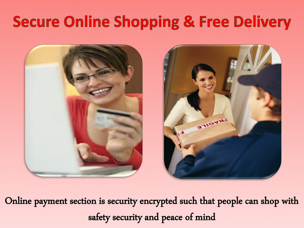 Online payment section is security encrypted su...