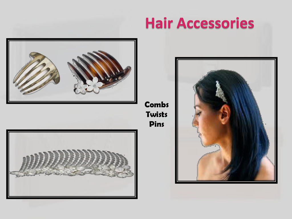 Hair Accessories Combs Twists Pins