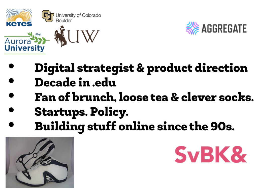 • Digital strategist & product direction • Deca...