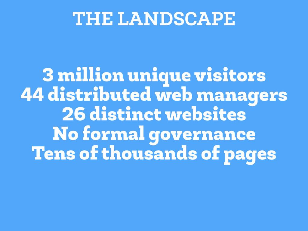 3 million unique visitors 44 distributed web ma...