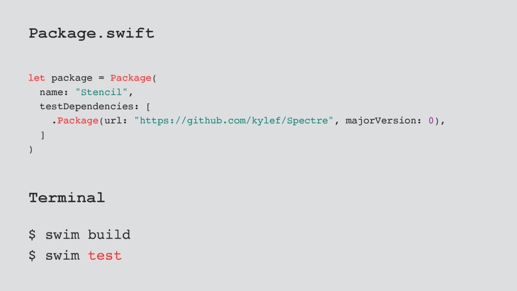 "Package.swift let package = Package( name: ""Ste..."