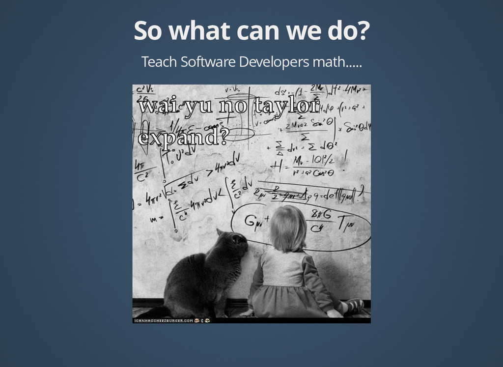 So what can we do? So what can we do? Teach Sof...