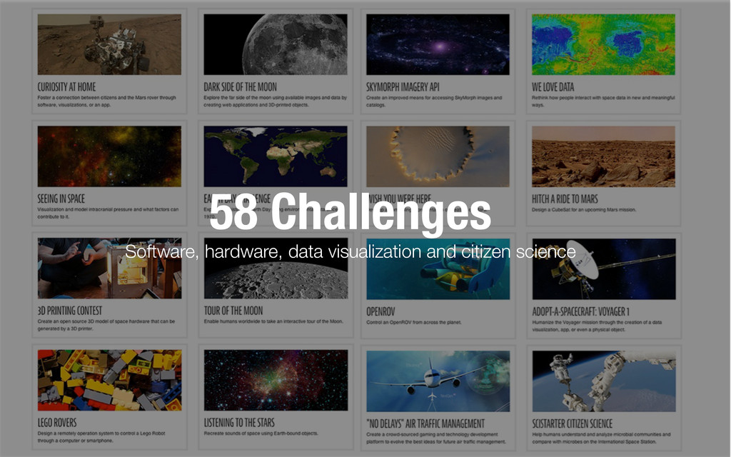 58 Challenges