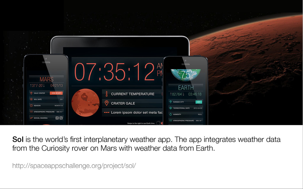 Sol is the world's first interplanetary weather ...