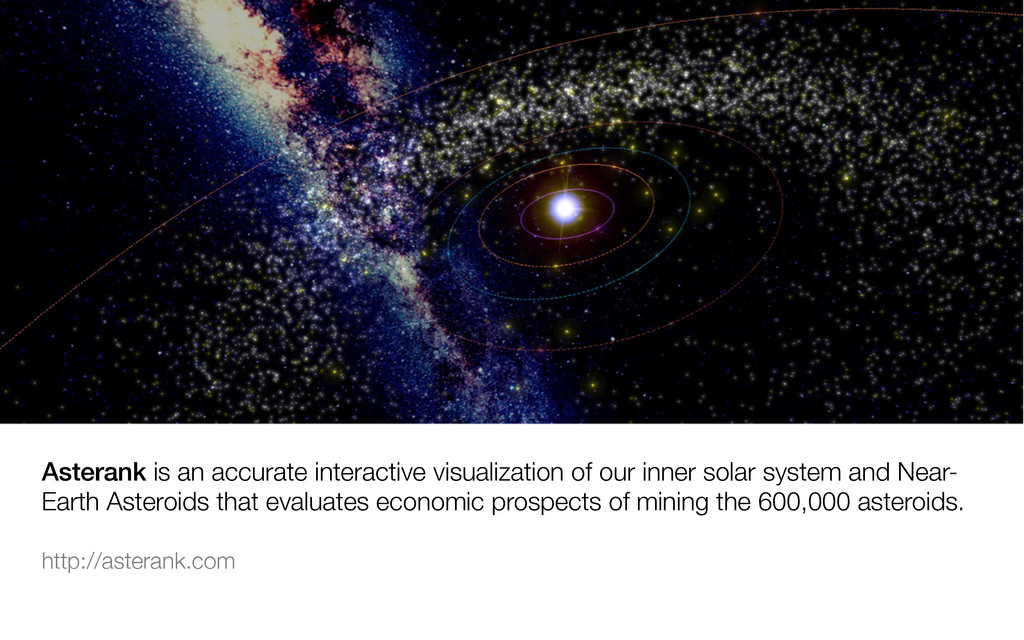 Asterank is an accurate interactive visualizati...