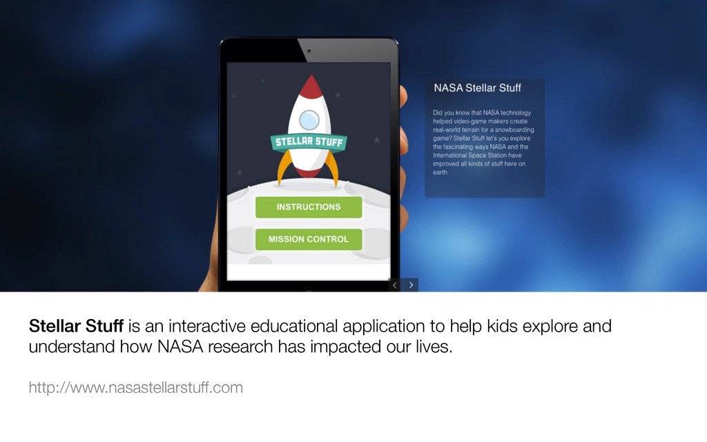Stellar Stuff is an interactive educational app...