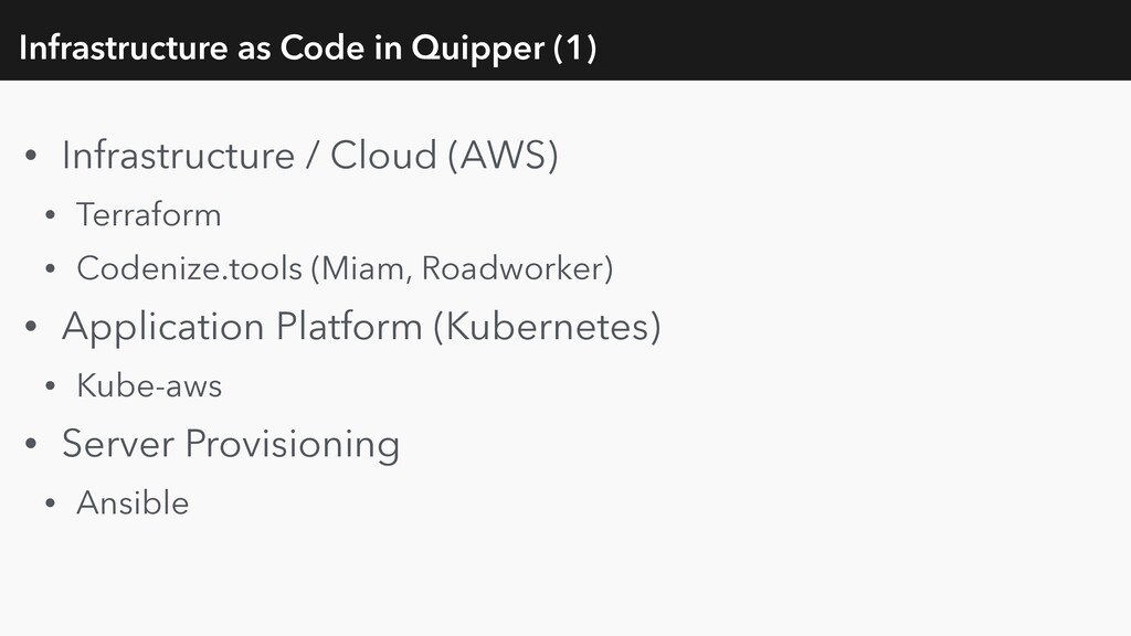 Infrastructure as Code in Quipper (1) • Infrast...