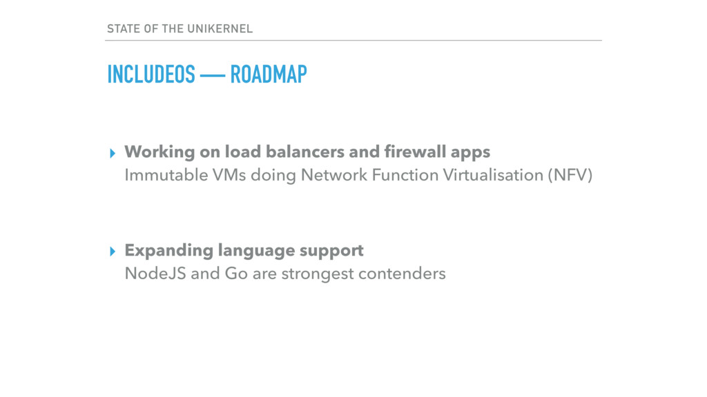 ▸ Working on load balancers and firewall apps ...