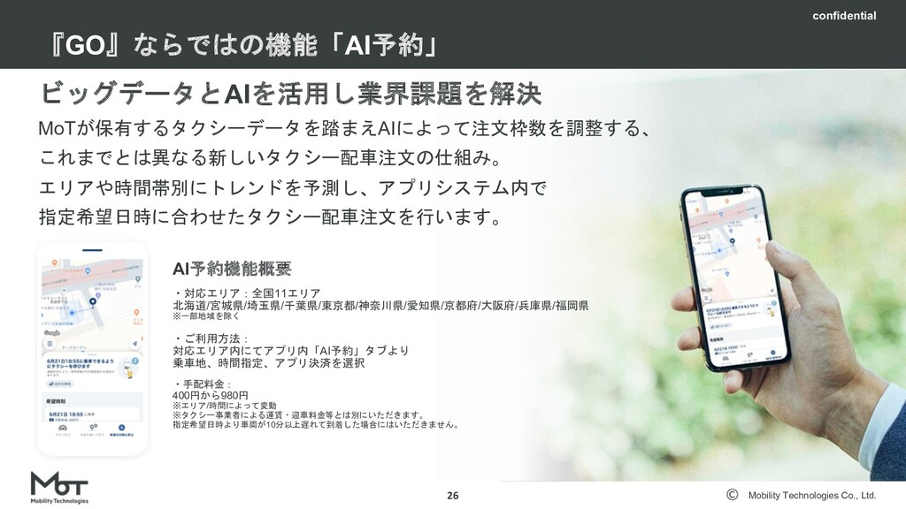 Mobility Technologies Co., Ltd. トライアルタクシー 25 ⽉に...