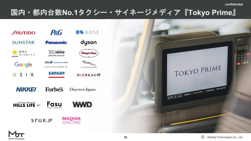 Mobility Technologies Co., Ltd. 社内で利⽤しているツール 27...