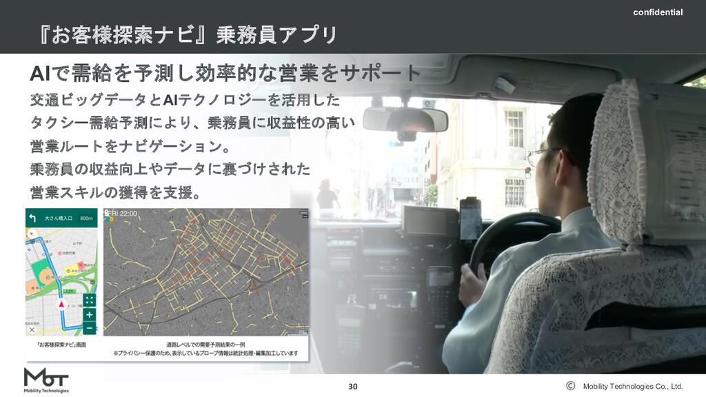 Mobility Technologies Co., Ltd. 採用について 29 04