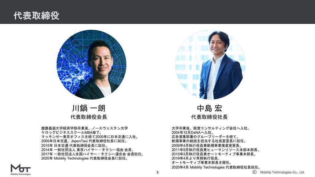 Mobility Technologies Co., Ltd. 事業状況 5 2015年 1Q...