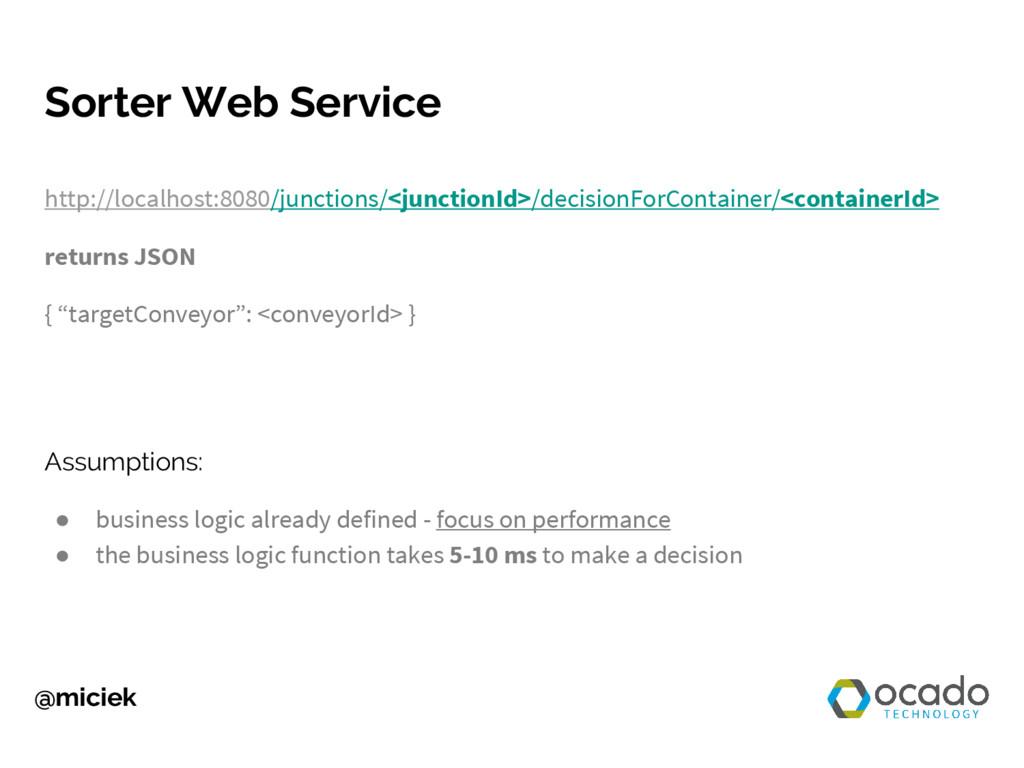 @miciek Sorter Web Service http://localhost:808...