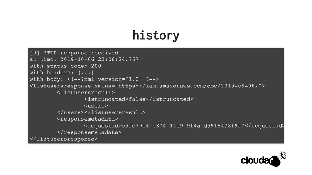 history history [0] HTTP response received at t...
