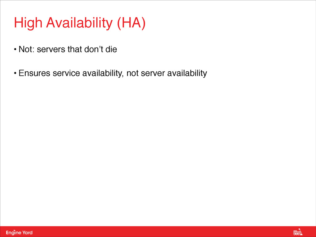 Proprietary and Confidential • Not: servers tha...