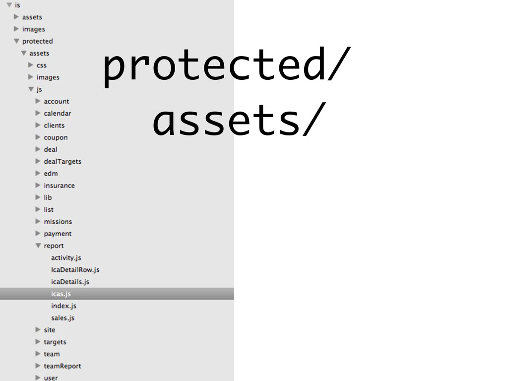 protected/ assets/