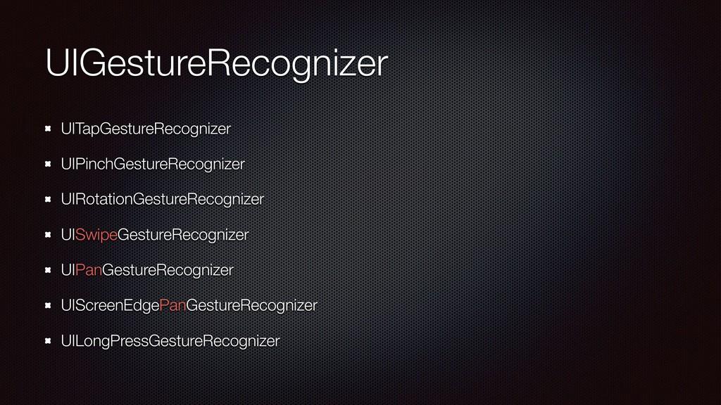 UIGestureRecognizer UITapGestureRecognizer UIPi...