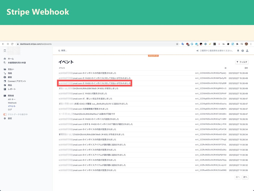 Stripe Webhook