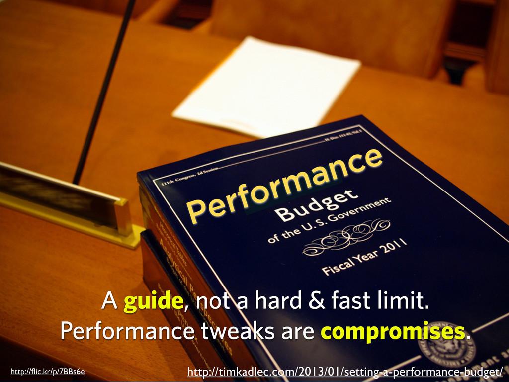 Performance http://timkadlec.com/2013/01/settin...