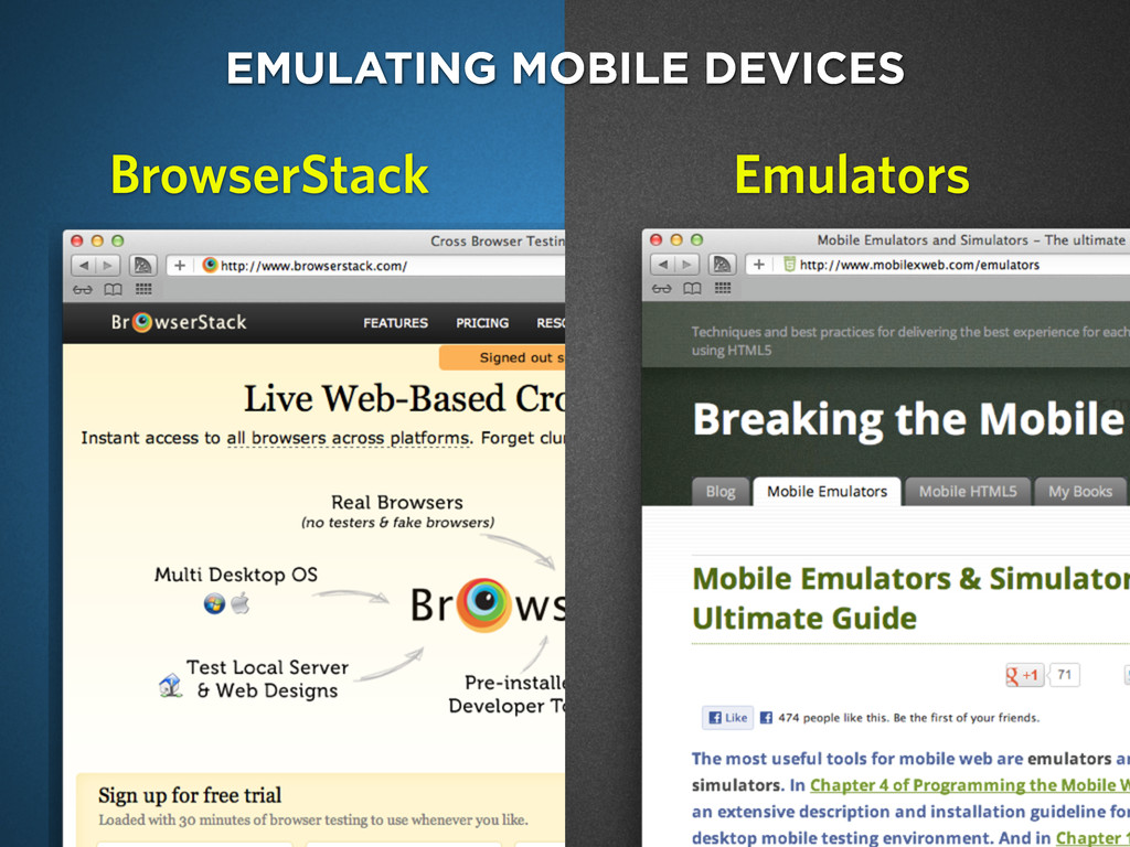 charlesproxy.com EMULATING MOBILE DEVICES Emula...