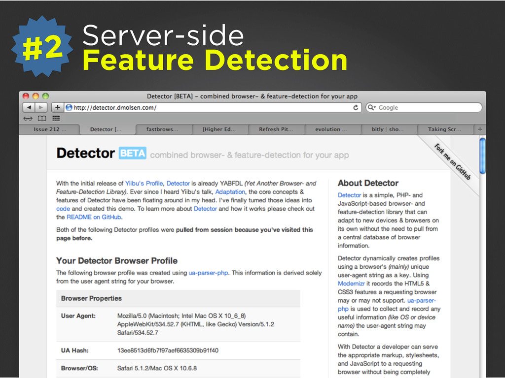 Server-side Feature Detection #2