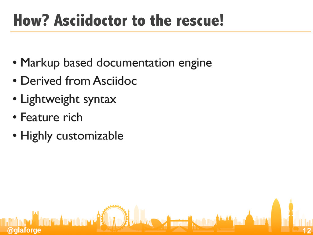 @glaforge How? Asciidoctor to the rescue! • Mar...