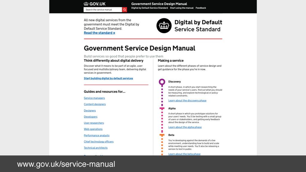 www.gov.uk/service-manual