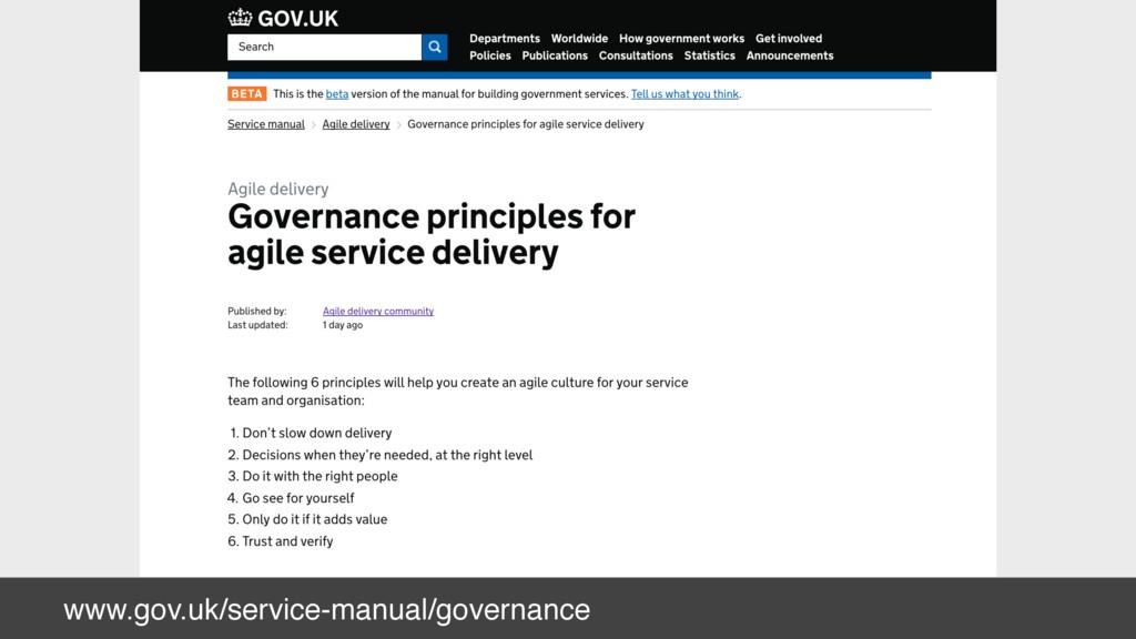 www.gov.uk/service-manual/governance