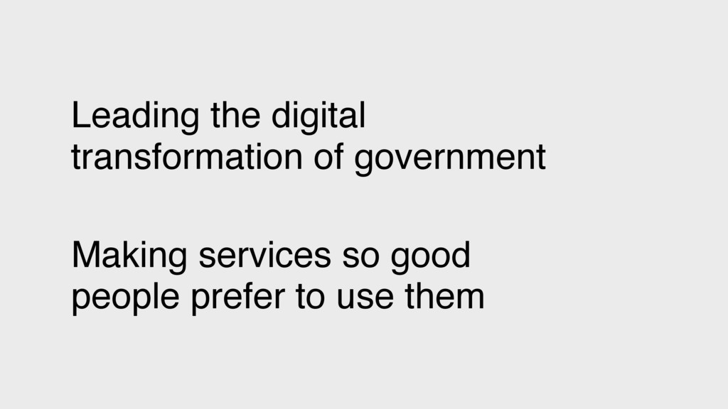 Leading the digital transformation of governmen...