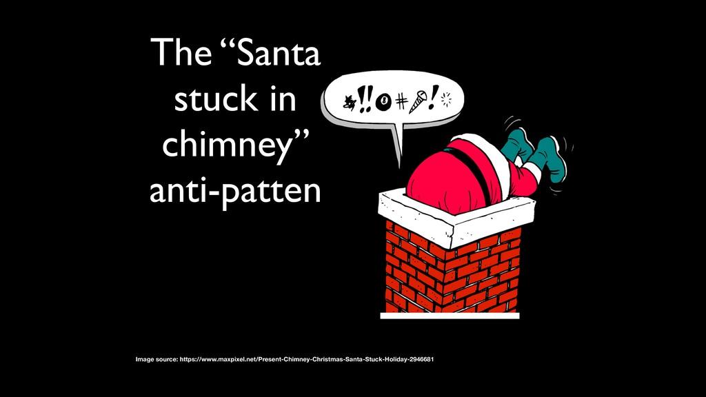 "The ""Santa stuck in chimney"" anti-patten Image ..."