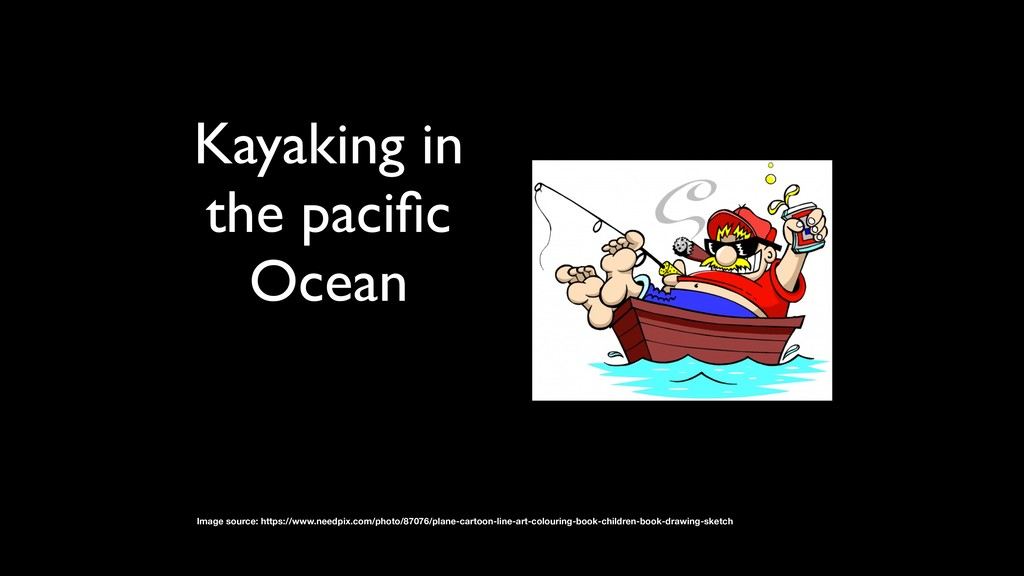 Kayaking in the pacific Ocean Image source: http...